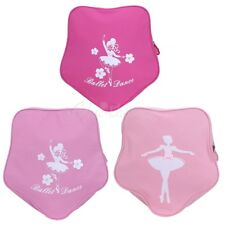 Girls Ballet Dance Bag Five-pointed Star Shape Backpack Embroidered Shoulder Bag