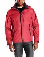 Hawke & Co Men's Midweight Jacket -  SZ XXL CHILI  RED / small graphite