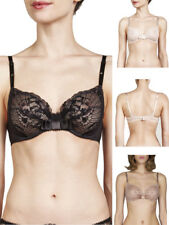 Maison Lejaby Passion 141233 Underwired Non Padded Plunge Balcony Lace Bra