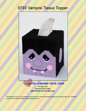 Vampire Tissue Topper-Halloween-Plastic Canvas Pattern or Kit