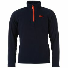 Helly Hansen Alderley Fleece Sweater Mens Blue Sweatshirt Jumper Top