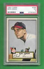 1952 Topps #268 Bob Lemon *** PSA EX 5 *** Cleveland Indians old baseball card