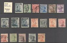 """KMC_16 - MINI COLLECTIONS (ITALY KINGDOM)- Collection of """"MICHETTI"""" stamps. Used"""
