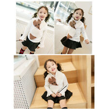 Fall Winter Trend Baby Boys Girls Fox Warm Knitted Scarf 2-5 Years Old