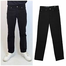 MENS Mens Classic Straight Leg Black Jeans from Red Herring RRP £30