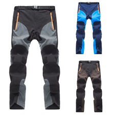 Comfy Outdoor Mens Soft shell Camping Tactical Cargo Pants Combat Hiking Trouser