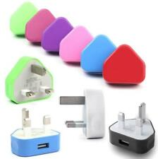 Universal USB Wall Charger 3 PIN UK Wall Plug USB Port Power Adaptor