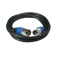 XLR 3 Pin Male to Female MIC Snake Plug Audio Microphone Cable Connector