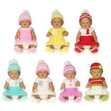 Handmade Knit Outfit Clothing Full Suit for 17 INCH 43/45cm Zapf Baby Born Dolls