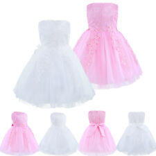Baby Girls Princess Kids Lace Dress Party Wedding Birthday Formal Floral Dresses