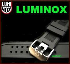 Luminox 23mm FP.L.ES Watch Rubber Band Strap: Colormark NAVY SEAL 3050/3080/8800