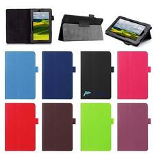 For Amazon Kindle Fire 7 Tablet Magnetic Leather Stand Case Smart Cover New UP