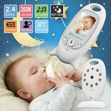 2 Inch Color Video Wireless Baby Monitor Camera Security Vision Talk Nigh Ir Led