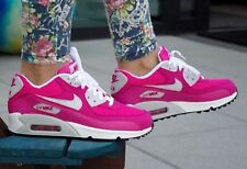 Nike Air Max 90 Hot Pink Athletic Shoes Trainers Sneakers size 6, 6.5, 7, 7.5NEW