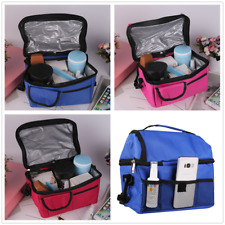 Portable Thermal Cooler Insulated Lunch Bag Tote Picnic Travel Food Box Bags