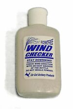 WIND Current CHECKER Powder Bottle Archery DEER Hunting Treestand FREE SHIPPING