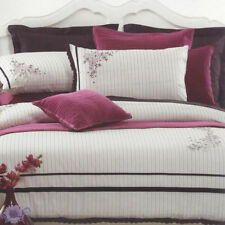 Georgia Duvet Doona | Quilt Cover Set by Partex | Embroidery & Applique