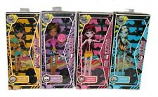 Monster High Gloom Beach Clawdeen, Cleo, Draculuara, Frankie Wave 1