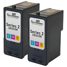 2pk 18C0190 COLOR Ink Cartridge for Lexmark #2 X2480