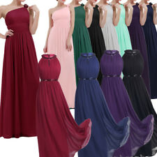 Womens Elegant Long Evening Party Dress Evening Halter Formal Cocktail Prom Gown
