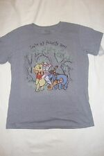 DISNEY STORE  POOH & FRIENDS  LADIES  TEE SHIRT YOU'RE MY FAVORITE BEAR  NWTS