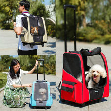 Portable Pet Dog Cat Animal Trolley Carrier Airline Travel Backpack Shoulder Bag
