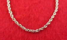 """14KT GOLD EP NECKLACE WITH 8"""" BRACELET SET OF  2.5MM  FRENCH ROPE CHAIN"""