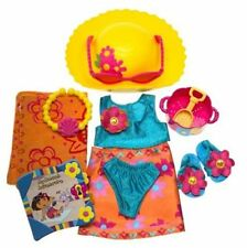 Dora The Explorer Beach Dress Up Fashion Pack Adventure with Travel Journal