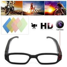 720P Mini Glasses Spy Hidden Camera Glasses Eyewear Recorder Cleaning Clothes UP