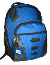 Wholesale Lot 24pc Blue 17in Travel Backpack School Bag Day Pack Book Bag LM160
