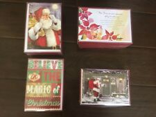 Christmas Theme greeting card Pack of 16- 4 designs to pick from