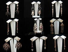 GOLD FILLED 14K  BEAUTIFUL  DIFFERENTS MODELS  EARRINGS -  FREE SHIPPING