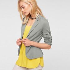 Long Sleeve Single Button Decorated Candy Color Fashionable Blazer For Women