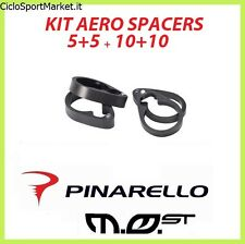 KIT Spacer Steering Pinarello MOST AERO Thickness Carbon 2 x 5 mm + 2 x 10 mm