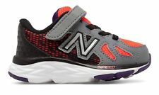 New Balance Hook and Loop 790v6 Infant Boys Shoes Orange with Grey