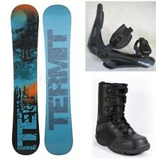 """NEW TERMIT """"COURSE"""" SNOWBOARD, BINDINGS, BOOTS PACKAGE - 153cm"""
