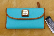 NWT $128 Dooney & Bourke Continental Clutch Pebble Leather Wallet  - Calypso