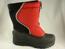 Boy's Youth ITASCA ICE BANDIT Red Waterproof Winter Insulated Snow Boots NEW