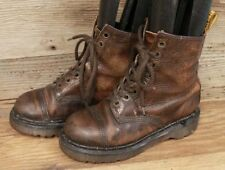 DOC DR MARTENS MENS / YOUTH LACE UP ANKLE BOOTS MADE IN ENGLAND SZ 3
