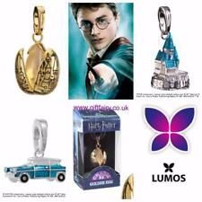 Official Genuine Harry Potter Silver Plated Lumos Charms- Weasley Car, Hogwarts
