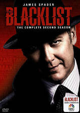 The Blacklist: Season 2 (DVD, 5-Disc Set) New and Sealed -  Never Viewed