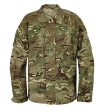 British Army Combat MTP Temperate Shirt Zip Front