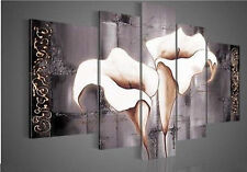 5 pieces Wall Art Modern hand-paint art oil painting Home Decor canvas NO framed