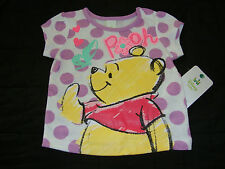 DISNEY WINNIE THE POOH  short sleeve TEE SHIRT NWTS NEW FOR SPRING