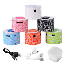 Mini USB Speaker Portable Stereo Speaker Bass MP3 Player Support TF/SD Card HOT