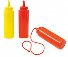 New Ketchup Or Mustard Phony Squirt String Bottle Novelty Joke Gag Gift