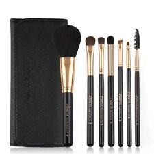 ZOREYA Make Up Brushes 7pcs Pony Hair Cosmetic Set With Leather Bag As Fashion W