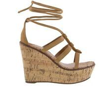 TONY BIANCO DRAKE CARAMEL KID SUEDE CASUAL WEDGE
