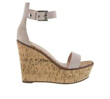 TONY BIANCO DESI OCHRE KID SUEDE CASUAL WEDGE