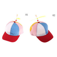 Cute Adjustable Propeller Beanie Ball Cap Hat Clown Costume Accessory QW